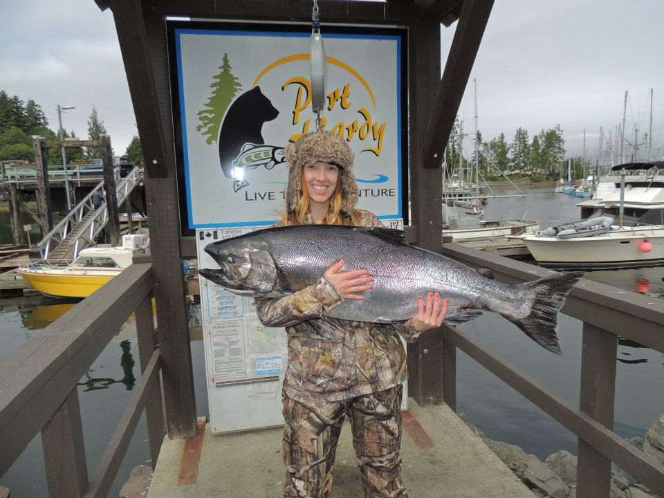 Serengeti all inclusive port hardy vancouver island bc for Vancouver island fishing